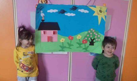 "Atelier de creatie – ""Colaj de primavara"""