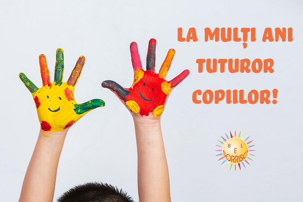 Mânuțe colorate ziua copilului