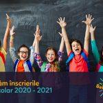 Copii în prima zi de școala Bel Sorriso